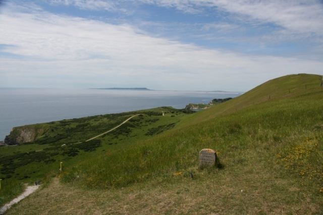 I can just about see Lulworth Cove now.