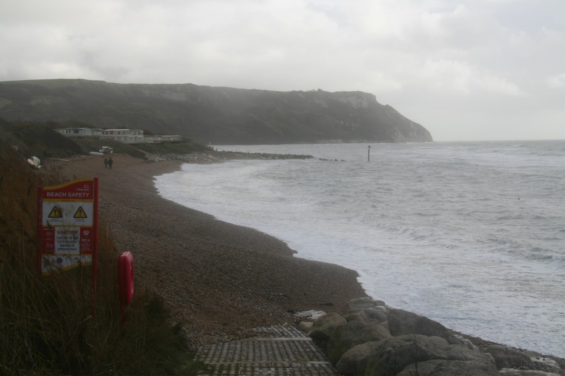 Ringstead beach in November.