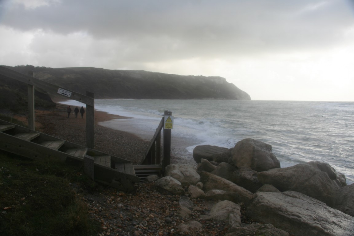 Ringstead beach.