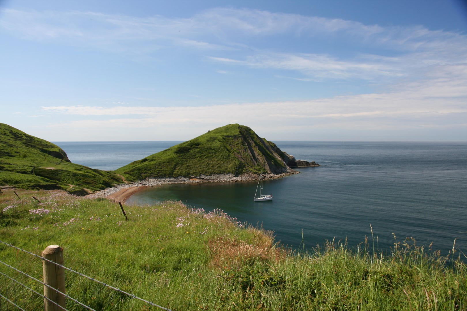 Lovely view of Worbarrow Tout