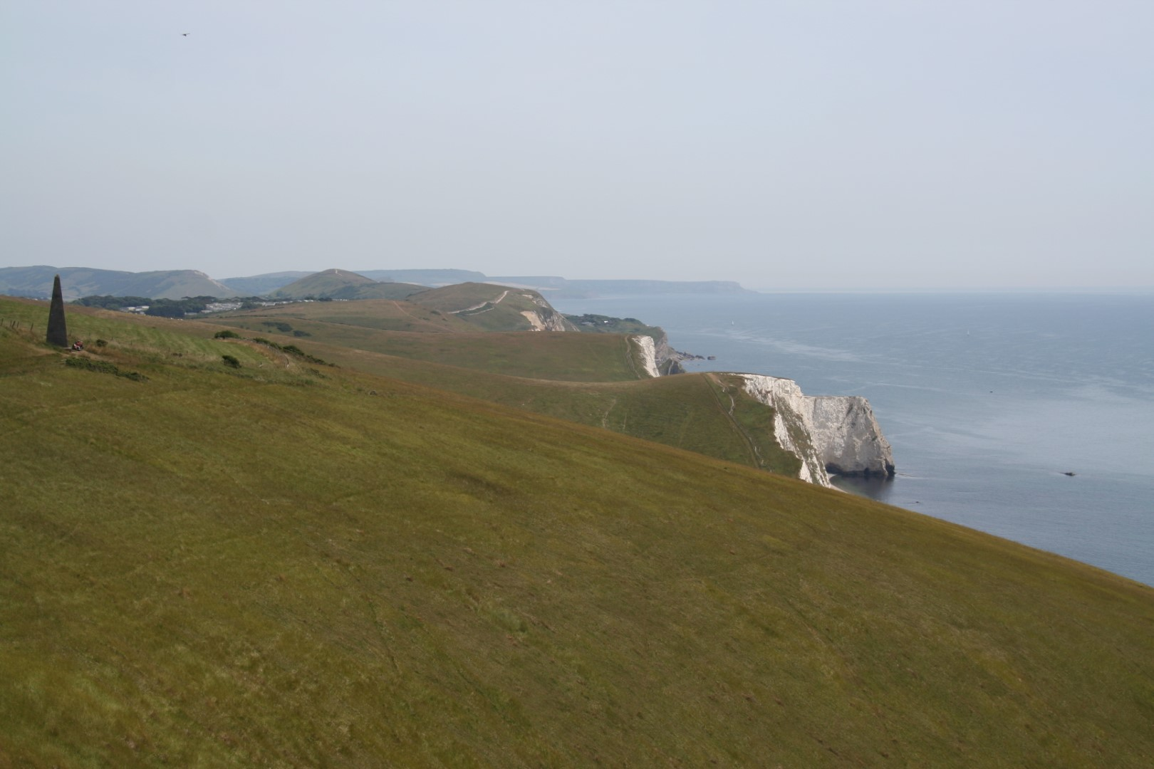 Panorama back towards Lulworth and Kimmeridge.