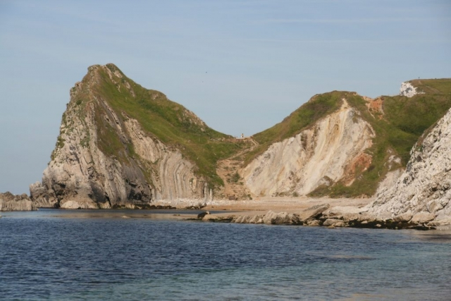 The other side of durdle door.