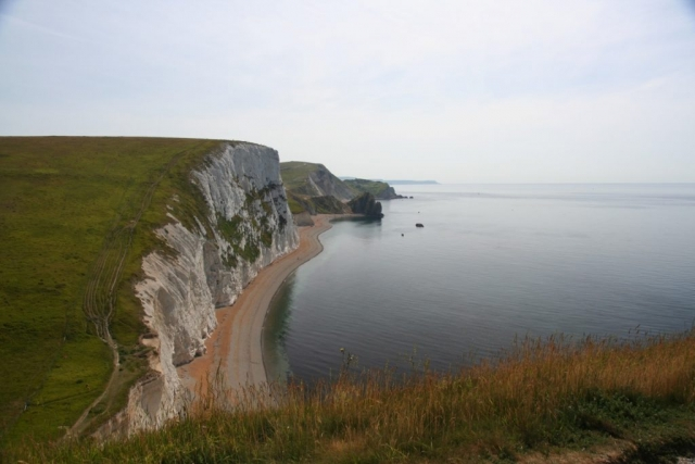 View back towards Durdle Door and Way beyond - I've come a long way already