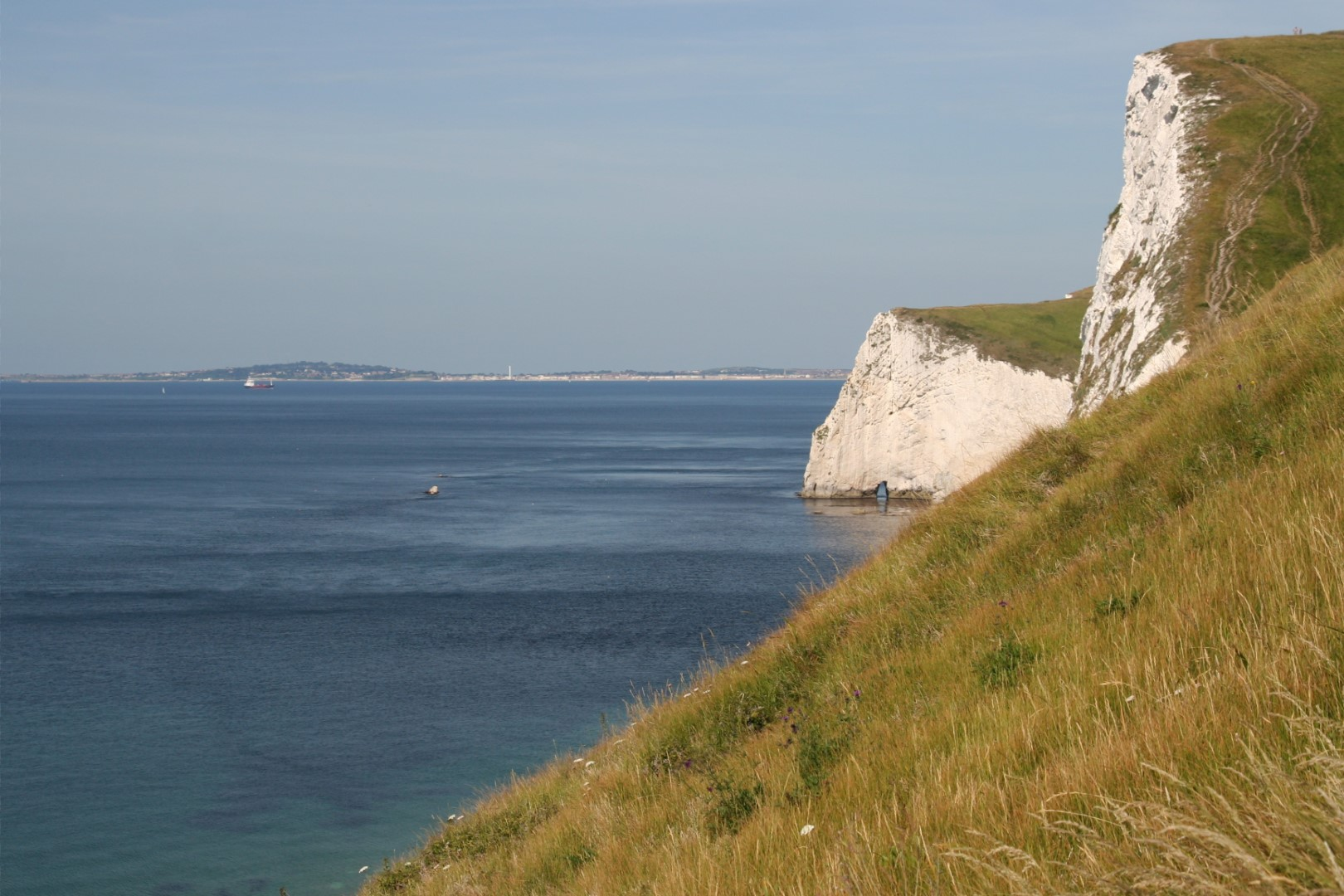 Weymouth - Bath's Head - and a steep climb ahead for me