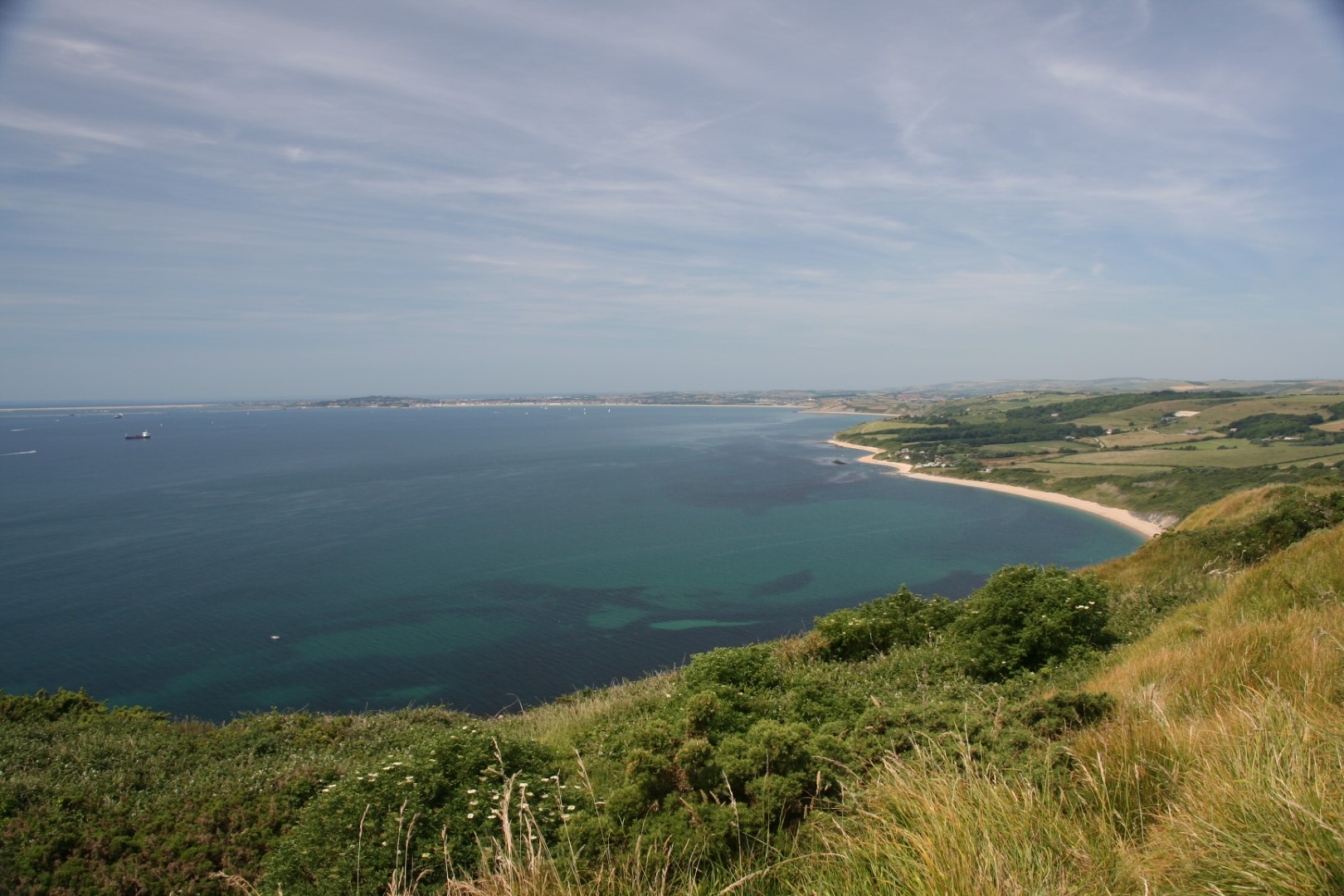 Weymouth and Ringstead - Ringstead Bay from above